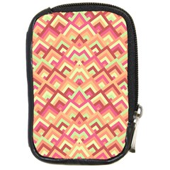 Trendy Chic Modern Chevron Pattern Compact Camera Cases by creativemom