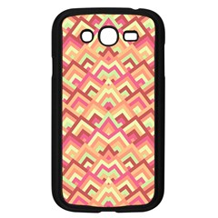 Trendy Chic Modern Chevron Pattern Samsung Galaxy Grand Duos I9082 Case (black) by creativemom