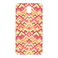 Trendy Chic Modern Chevron Pattern Samsung Galaxy Note 3 N9005 Hardshell Back Case by creativemom