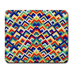 Trendy Chic Modern Chevron Pattern Large Mousepads by creativemom