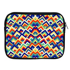 Trendy Chic Modern Chevron Pattern Apple Ipad 2/3/4 Zipper Cases by creativemom