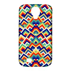 Trendy Chic Modern Chevron Pattern Samsung Galaxy S4 Classic Hardshell Case (pc+silicone) by creativemom
