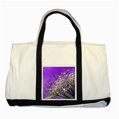 Dandelion 2015 0706 Two Tone Tote Bag  by JAMFoto