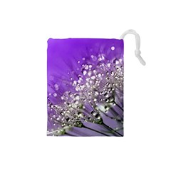 Dandelion 2015 0706 Drawstring Pouches (small)  by JAMFoto