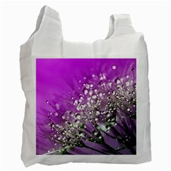 Dandelion 2015 0707 Recycle Bag (two Side)  by JAMFoto