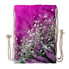 Dandelion 2015 0708 Drawstring Bag (large) by JAMFoto
