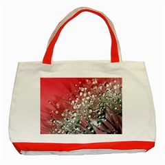 Dandelion 2015 0710 Classic Tote Bag (red)  by JAMFoto