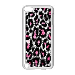 Pink Cheetah Bling  Apple Ipod Touch 5 Case (white) by OCDesignss