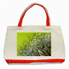 Dandelion 2015 0714 Classic Tote Bag (red)  by JAMFoto