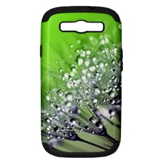 Dandelion 2015 0715 Samsung Galaxy S Iii Hardshell Case (pc+silicone) by JAMFoto
