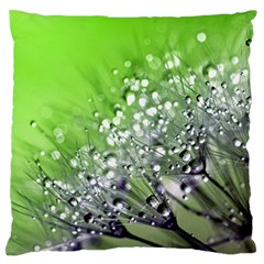 Dandelion 2015 0715 Large Flano Cushion Cases (two Sides)  by JAMFoto