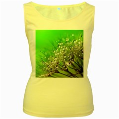 Dandelion 2015 0716 Women s Yellow Tank Tops by JAMFoto