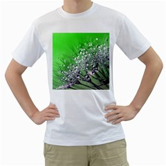 Dandelion 2015 0716 Men s T Shirt (white) (two Sided) by JAMFoto