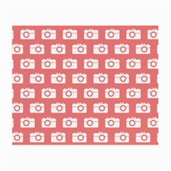 Modern Chic Vector Camera Illustration Pattern Small Glasses Cloth by creativemom