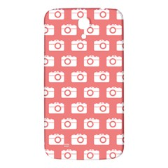 Modern Chic Vector Camera Illustration Pattern Samsung Galaxy Mega I9200 Hardshell Back Case by creativemom