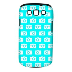 Modern Chic Vector Camera Illustration Pattern Samsung Galaxy S Iii Classic Hardshell Case (pc+silicone) by creativemom