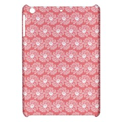 Coral Pink Gerbera Daisy Vector Tile Pattern Apple Ipad Mini Hardshell Case by creativemom