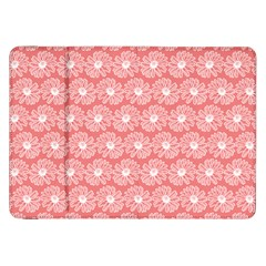 Coral Pink Gerbera Daisy Vector Tile Pattern Samsung Galaxy Tab 8 9  P7300 Flip Case by creativemom
