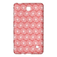 Coral Pink Gerbera Daisy Vector Tile Pattern Samsung Galaxy Tab 4 (8 ) Hardshell Case  by creativemom