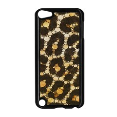 Brown Cheetah Abstract Pattern  Apple Ipod Touch 5 Case (black) by OCDesignss