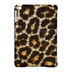 Brown Cheetah Abstract Pattern  Apple Ipad Mini Hardshell Case (compatible With Smart Cover) by OCDesignss