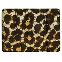 Brown Cheetah Abstract Pattern  Samsung Galaxy Tab 7  P1000 Flip Case by OCDesignss
