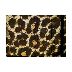 Brown Cheetah Abstract Pattern  Ipad Mini 2 Flip Cases