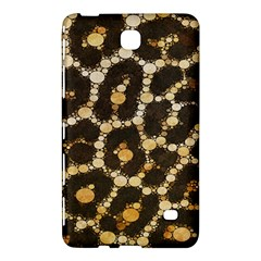 Brown Cheetah Abstract Pattern  Samsung Galaxy Tab 4 (8 ) Hardshell Case  by OCDesignss