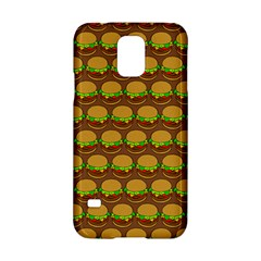 Burger Snadwich Food Tile Pattern Samsung Galaxy S5 Hardshell Case  by creativemom