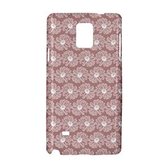 Gerbera Daisy Vector Tile Pattern Samsung Galaxy Note 4 Hardshell Case by creativemom