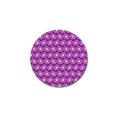 Gerbera Daisy Vector Tile Pattern Golf Ball Marker (4 Pack) by creativemom