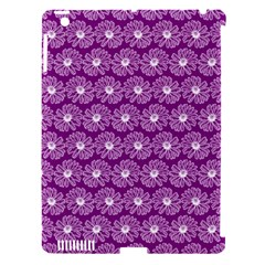 Gerbera Daisy Vector Tile Pattern Apple Ipad 3/4 Hardshell Case (compatible With Smart Cover) by creativemom