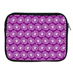 Gerbera Daisy Vector Tile Pattern Apple Ipad 2/3/4 Zipper Cases by creativemom