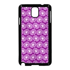 Gerbera Daisy Vector Tile Pattern Samsung Galaxy Note 3 Neo Hardshell Case (black) by creativemom