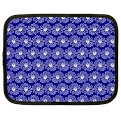 Gerbera Daisy Vector Tile Pattern Netbook Case (xl)  by creativemom