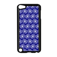 Gerbera Daisy Vector Tile Pattern Apple Ipod Touch 5 Case (black) by creativemom