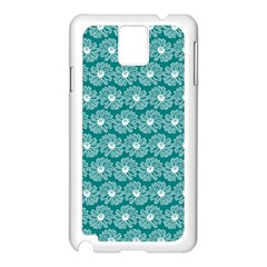 Gerbera Daisy Vector Tile Pattern Samsung Galaxy Note 3 N9005 Case (white) by creativemom