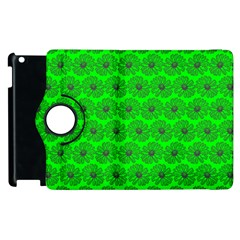 Gerbera Daisy Vector Tile Pattern Apple Ipad 3/4 Flip 360 Case by creativemom