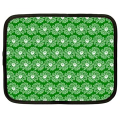 Gerbera Daisy Vector Tile Pattern Netbook Case (large)	 by creativemom
