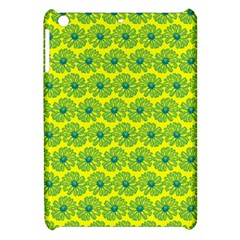 Gerbera Daisy Vector Tile Pattern Apple Ipad Mini Hardshell Case by creativemom
