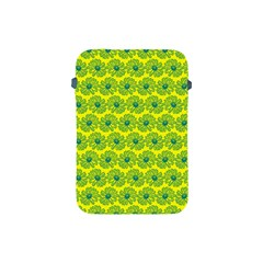 Gerbera Daisy Vector Tile Pattern Apple Ipad Mini Protective Soft Cases by creativemom