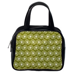 Gerbera Daisy Vector Tile Pattern Classic Handbags (one Side) by creativemom