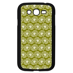 Gerbera Daisy Vector Tile Pattern Samsung Galaxy Grand Duos I9082 Case (black)