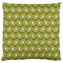 Gerbera Daisy Vector Tile Pattern Standard Flano Cushion Cases (two Sides)  by creativemom