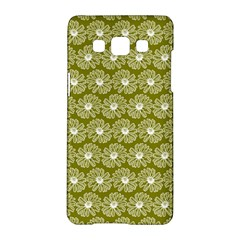 Gerbera Daisy Vector Tile Pattern Samsung Galaxy A5 Hardshell Case  by creativemom