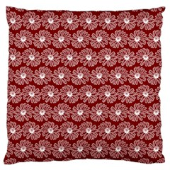 Gerbera Daisy Vector Tile Pattern Large Cushion Cases (two Sides)  by creativemom