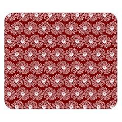 Gerbera Daisy Vector Tile Pattern Double Sided Flano Blanket (small)  by creativemom