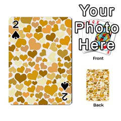Heart 2014 0904 Playing Cards 54 Designs