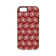 Gerbera Daisy Vector Tile Pattern Apple Iphone 5 Classic Hardshell Case (pc+silicone) by creativemom