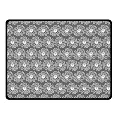 Gerbera Daisy Vector Tile Pattern Double Sided Fleece Blanket (small)  by creativemom